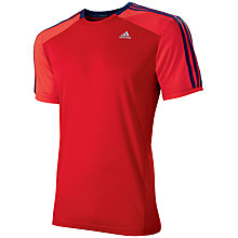 Buy Adidas Clima 365 Crew Neck T-Shirt Online at johnlewis.com