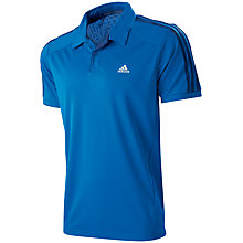 Buy Adidas Clima 365 Plain Polo Shirt Online at johnlewis.com