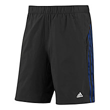 Buy Adidas CLIMA 365 Core Shorts, Black/Blue Online at johnlewis.com