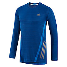 Buy Adidas Supernova Long Sleeve Crew Neck Training Top, Ink Online at johnlewis.com