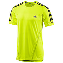 Buy Adidas Response Short Sleeve T-Shirt Online at johnlewis.com
