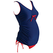 Buy Zoggs Mallacoota Maternity Scoopback Swimsuit Online at johnlewis.com