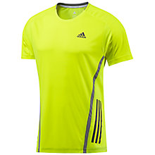 Buy Adidas Supernova Short Sleeve Crew Neck Training Top Online at johnlewis.com