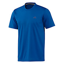 Buy Adidas Plain Prime T-Shirt Online at johnlewis.com