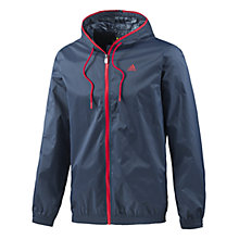 Buy Adidas 3 Stripes Light Rain Jacket Online at johnlewis.com