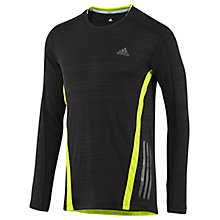 Buy Adidas Supernova Long Sleeve Crew Neck Training Top, Black Online at johnlewis.com