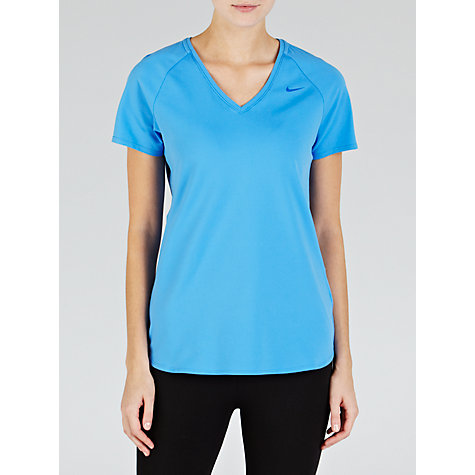 Buy Nike Women's Base Layer V-Neck T-Shirt Online at johnlewis.com
