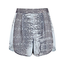 Buy Reiss Snake Print Shorts, Indigo Online at johnlewis.com