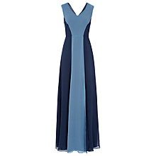 Buy Reiss Colour Block Maxi Dress, Indigo Online at johnlewis.com