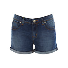 Buy Oasis Boyfriend Authentic Wash Denim Shorts, Denim Online at johnlewis.com