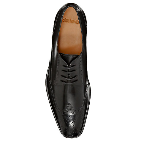 Buy John Lewis Brosnan Leather Brogue Shoes Online at johnlewis.com