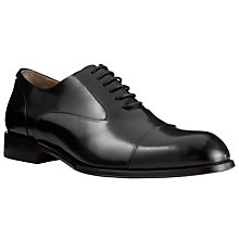 Buy John Lewis Goodwin Leather Oxford Shoes, Black Online at johnlewis.com