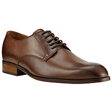 Buy John Lewis Harrison Leather Derby Shoes, Nut Online at johnlewis.com