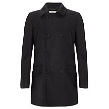 Buy John Lewis Mid Length Double Breasted Coat Online at johnlewis.com
