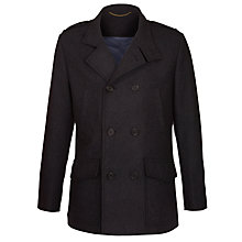 Buy John Lewis Funnel Neck Mid Length Coat Online at johnlewis.com