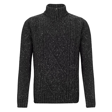 Buy John Lewis Frosty Cable 1/4 Zip Jumper Online at johnlewis.com