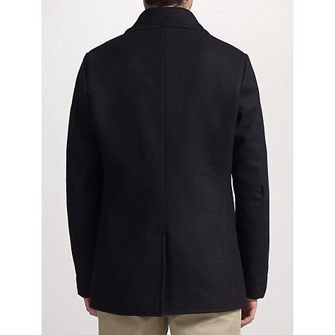 Buy JOHN LEWIS & Co. Made in England Falcon Peacoat, Navy Online at johnlewis.com