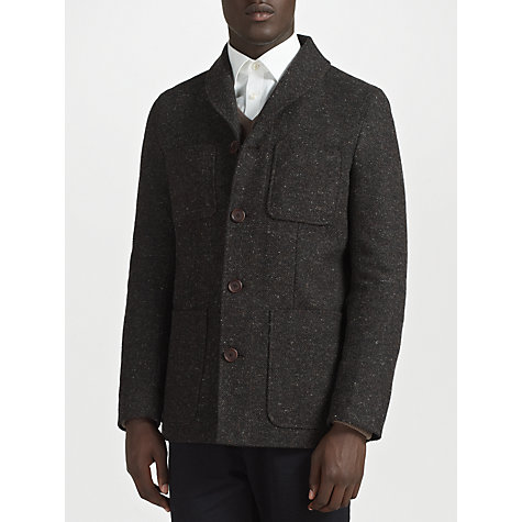 Buy John Lewis Longer Length Donegal Jacket Online at johnlewis.com