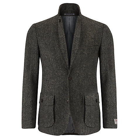 Buy JOHN LEWIS & Co. Harris Tweed Vintage Herringbone Blazer, Grey Online at johnlewis.com