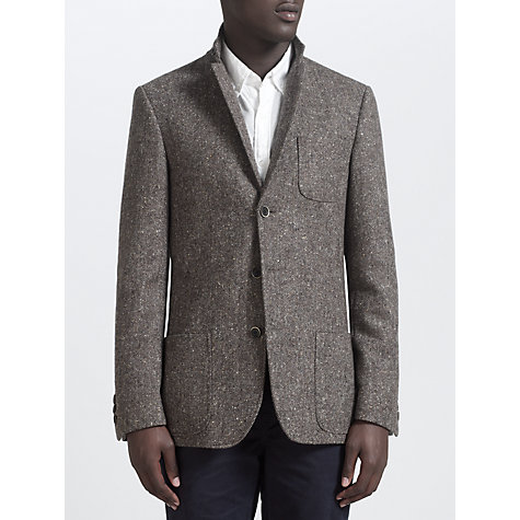 Buy JOHN LEWIS & Co. Abraham Moon Donegal Blazer, Brown Online at johnlewis.com