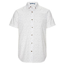 Buy Kin by John Lewis Short Sleeve Dash Print Shirt Online at johnlewis.com
