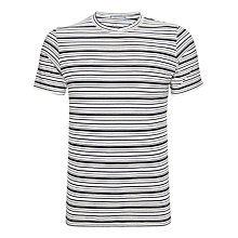 Buy Kin by John Lewis Varigated Crew Neck Short Sleeve T-Shirt Online at johnlewis.com