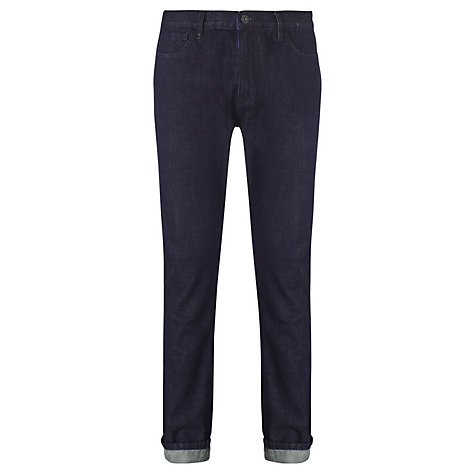 Buy Kin by John Lewis Slim Tapered Jeans, Blue Online at johnlewis.com
