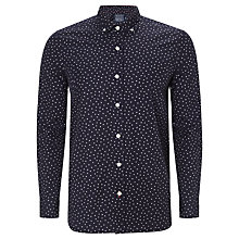 Buy JOHN LEWIS & Co. Euchre Vintage Peacock Print Long Sleeve Shirt Online at johnlewis.com