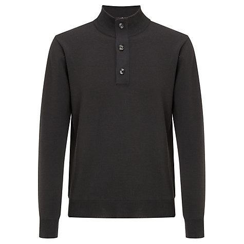 Buy Joe Casely-Hayford Fine Gauge Waffle Funnel Neck Jumper Online at johnlewis.com