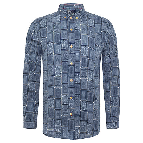 Buy JOHN LEWIS & Co. House of Cards Print Long Sleeve Shirt Online at johnlewis.com
