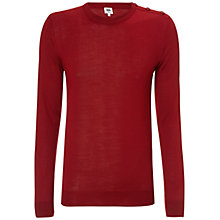 Buy Kin by John Lewis Merino Blend Button Neck Jumper Online at johnlewis.com