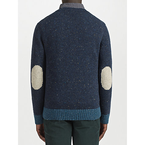 Buy JOHN LEWIS & Co. Vintage Contrast Nep Crew Neck Jumper Online at johnlewis.com