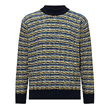 Buy Joe Casely-Hayford for John Lewis Bonner Basket Weave Jumper Online at johnlewis.com