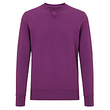 Buy Joe Casely-Hayford for John Lewis Long Sleeve Garment Dye Crew Neck Jumper Online at johnlewis.com