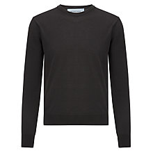 Buy Joe Casely-Hayford Fine Gauge Waffle Crew Neck Top Online at johnlewis.com