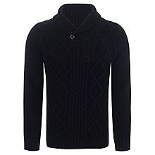 Buy JOHN LEWIS & Co. Button Shawl Neck Jumper Online at johnlewis.com