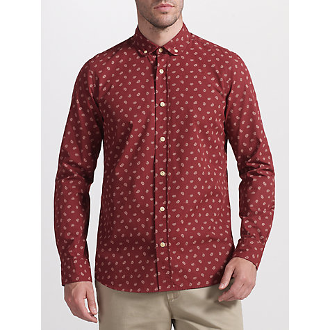 Buy JOHN LEWIS & Co. Canasta Paisley Print Long Sleeve Shirt Online at johnlewis.com