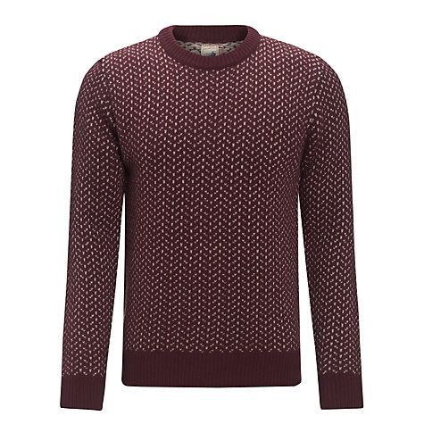 Buy JOHN LEWIS & Co. Vintage Birdseye Jumper Online at johnlewis.com