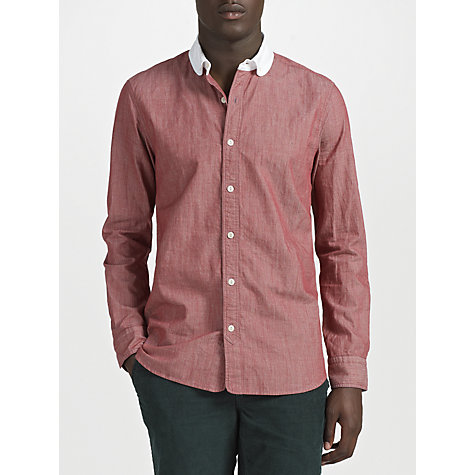 Buy JOHN LEWIS & Co. Penny Collar Vintage Stripe Long Sleeve Shirt Online at johnlewis.com