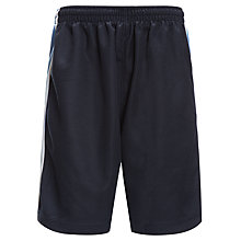 Buy Beaverwood School for Girls Sports Shorts, Navy/Sky Online at johnlewis.com