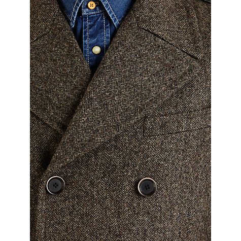 Buy JOHN LEWIS & Co. Abraham Moon Beeswax Coat, Grey Online at johnlewis.com