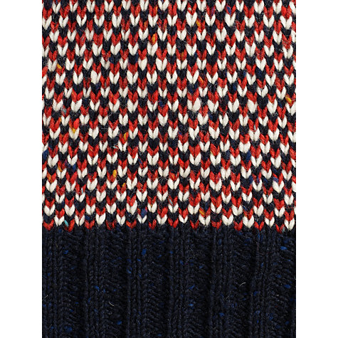 Buy Joe Casely-Hayford for John Lewis Birdseye Roll Neck Jumper Online at johnlewis.com