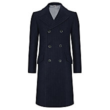 Buy JOHN LEWIS & Co. Harris Tweed Sherlock Chalk Stripe Coat Online at johnlewis.com