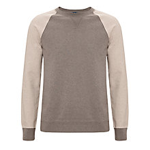Buy Kin by John Lewis Colour Block Jumper, Oatmeal Online at johnlewis.com
