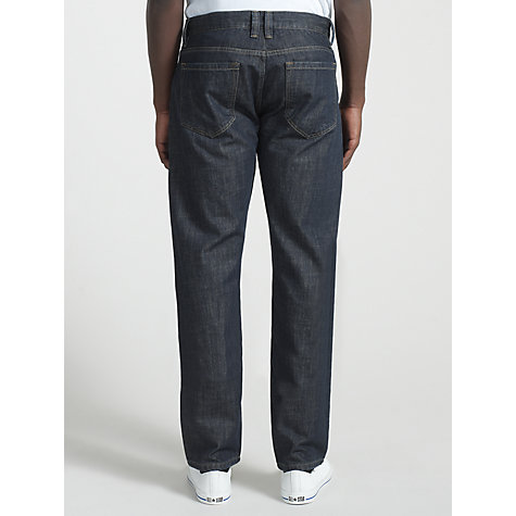 Buy JOHN LEWIS & Co. Selvedge Denim Jeans, Indigo Online at johnlewis.com