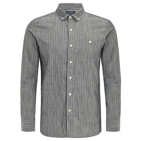 Buy JOHN LEWIS & Co. Penny Collar Winter Stripe Long Sleeve Shirt Online at johnlewis.com