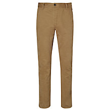 Buy JOHN LEWIS & Co. McCormack Twill Trousers, Camel Online at johnlewis.com