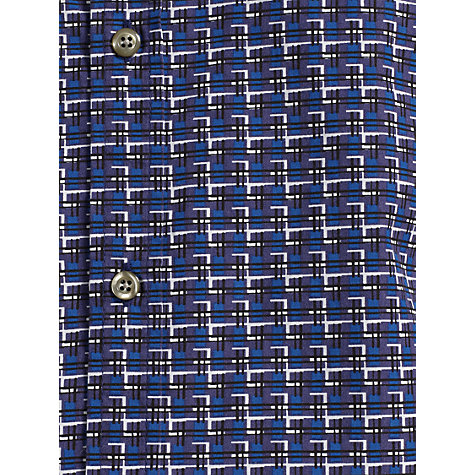 Buy Kin By John Lewis Long Sleeve Windows Print Shirt, Blue Online at johnlewis.com