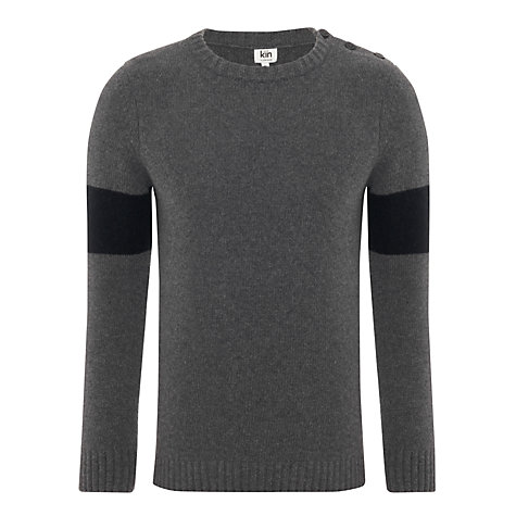 Buy Kin by John Lewis Colour Block Sleeve Jumper Online at johnlewis.com