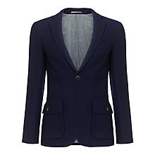 Buy JOHN LEWIS & Co. Harris Tweed Vintage Blazer, Royal Blue Online at johnlewis.com